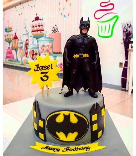 Batman Themed Cake 01