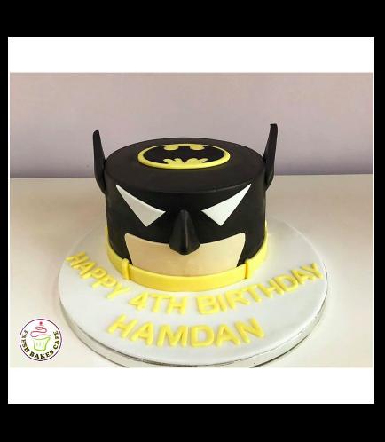 Batman Themed Cake - LEGO - 2D Cake 01