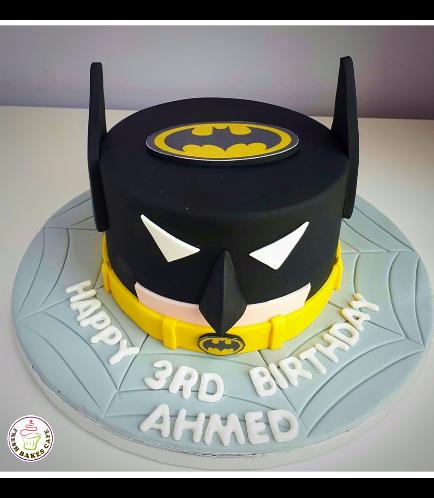 Batman Themed Cake - LEGO - 2D Cake 02