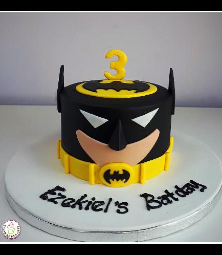 Batman Themed Cake - LEGO - 2D Cake 03