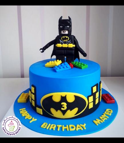 Batman Themed Cake - LEGO - 3D Character 01