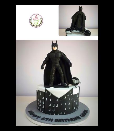 Batman Themed Cake 16