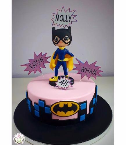 BatGirl Themed Cake 02