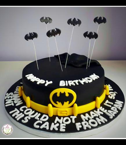 Batman Themed Cake 11