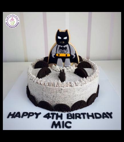 Batman Themed Cake - LEGO - Batman Cookie