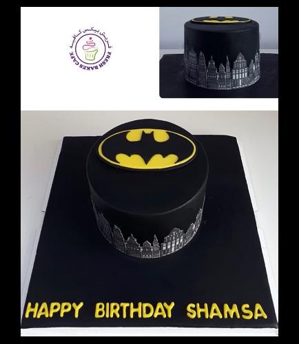 Batman Themed Cake 08