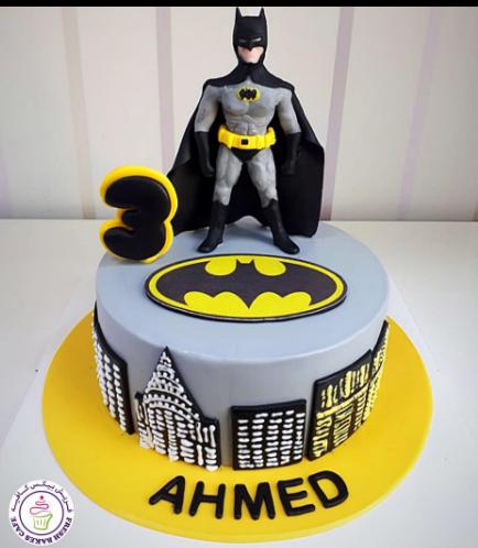 Batman Themed Cake - 3D Character 02