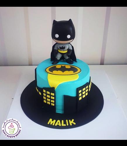 Batman Themed Cake - 3D Character - Funko Pop
