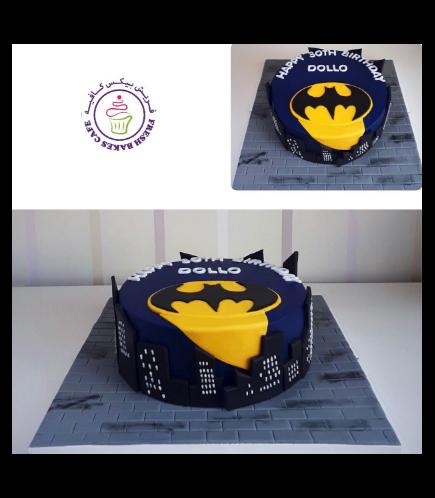 Batman Themed Cake 10