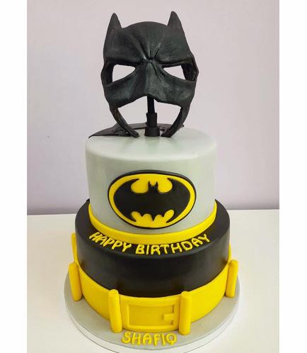 Batman Themed Cake - 3D Mask