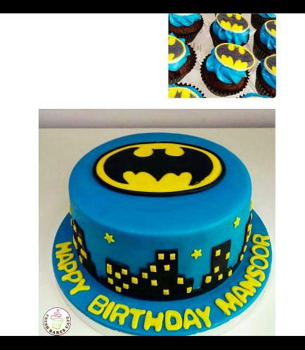 Batman Themed Cake 06