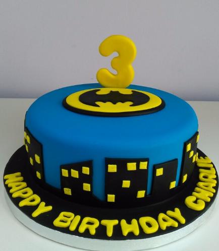 Batman Themed Cake 04