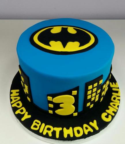 Batman Themed Cake 05
