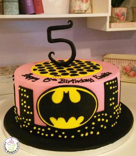 BatGirl Themed Cake 01