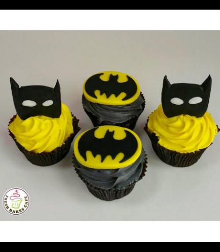 Batman Themed Cupcakes 02