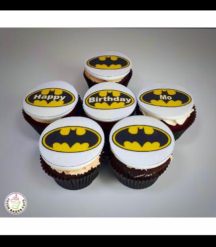 Batman Themed Cupcakes 03