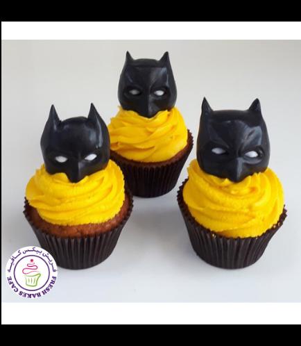 Batman Themed Cupcakes 04