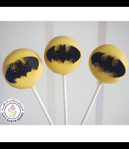 Batman Themed Donut Pops 01