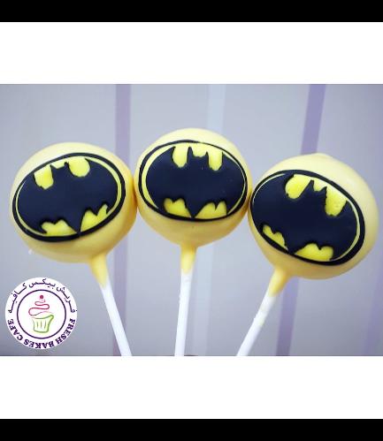 Batman Themed Donut Pops 02