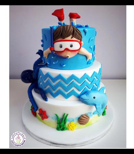 Beach Themed Cake 10a