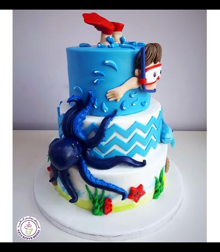 Beach Themed Cake 10b