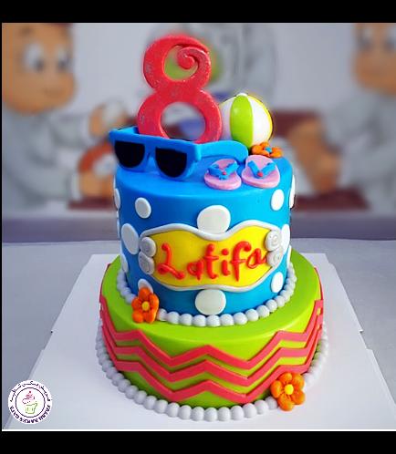 Beach Themed Cake 11