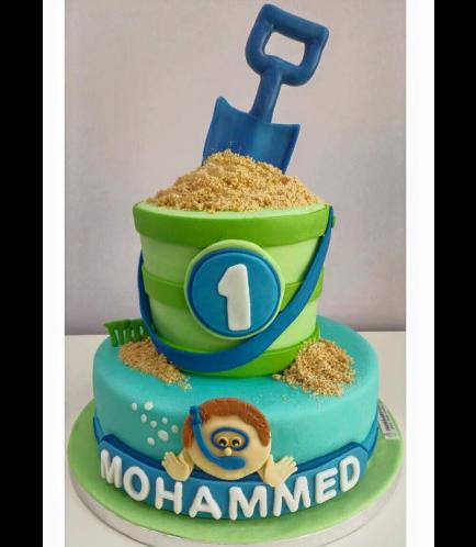Beach Themed Cake 02