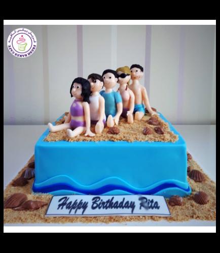 Beach Themed Cake 12