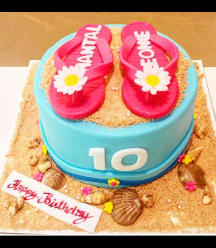Beach Themed Cake 04