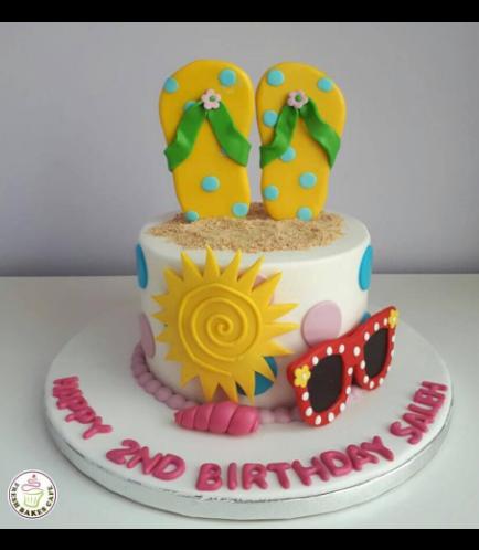 Beach Themed Cake 09