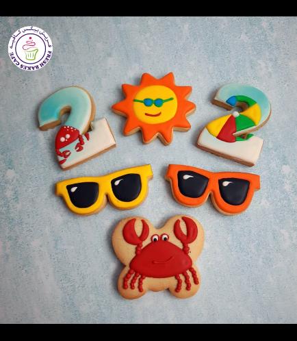 Beach Themed Cookies 09