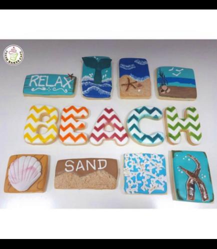 Beach Themed Cookies 01
