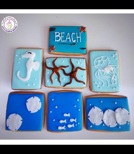 Beach Themed Cookies 02