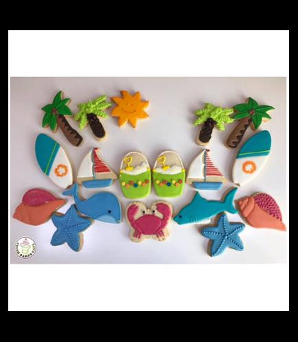 Beach Themed Cookies 03