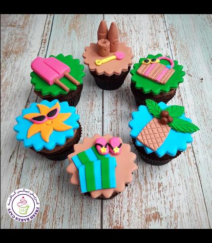 Beach Themed Cupcakes 04