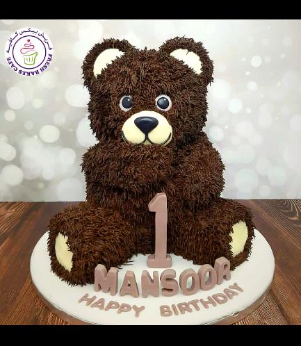 Cake - Bear - 3D Cake