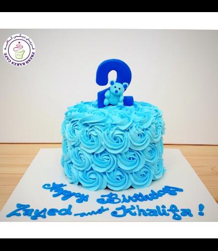 Bear Themed Cake - 3D Cake Topper - 1 Tier 10