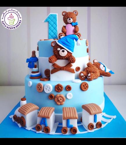 Bear Themed Cake 01a