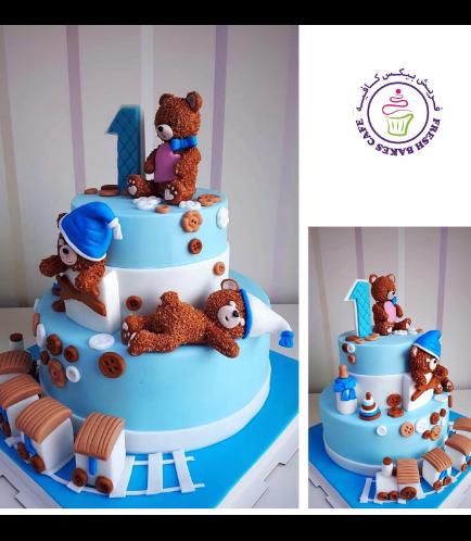 Bear Themed Cake 01b