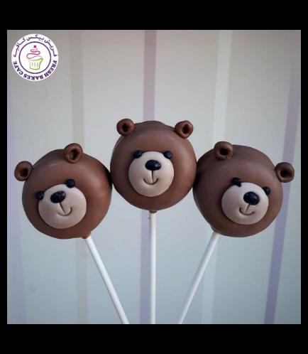 Bear Themed Donut Pops 01a