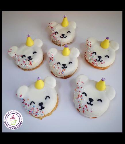 Bear Themed Donuts