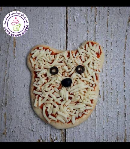 Bear Themed Pizza