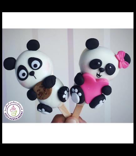 Panda Themed Popsicakes 02