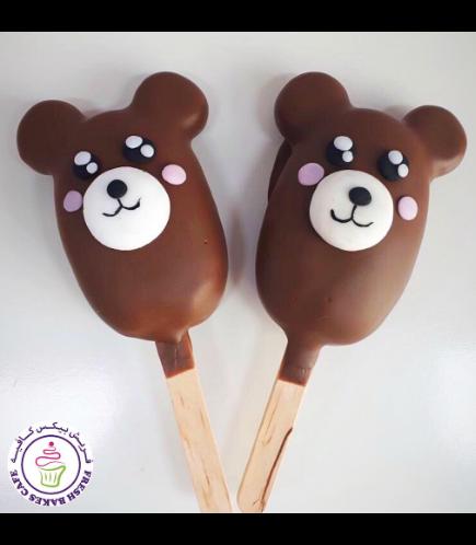 Bear Themed Popsicakes 01