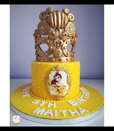 Beauty & the Beast Themed Cake 03