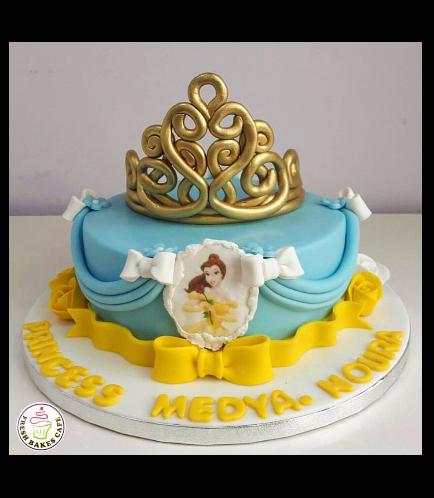 Beauty & the Beast Themed Cake 05a
