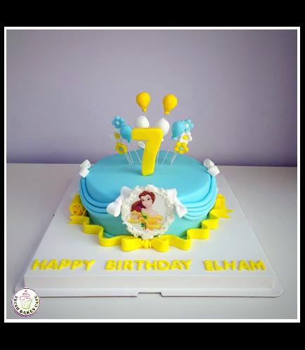 Beauty & the Beast Themed Cake 05b