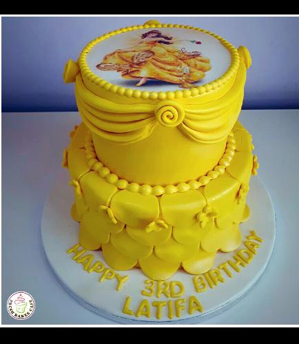 Beauty & the Beast Themed Cake 06