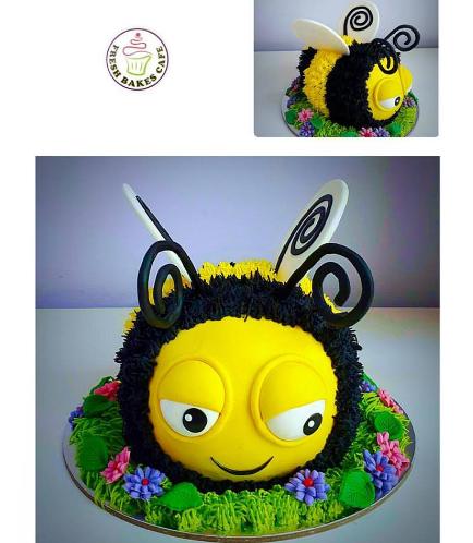 Bee Themed Cake 03
