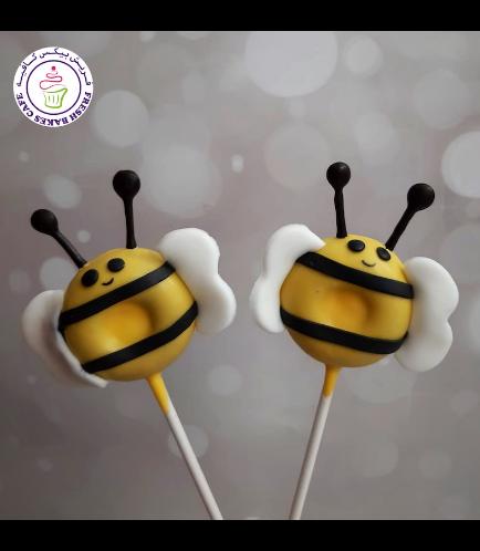 Bee Themed Donut Pops